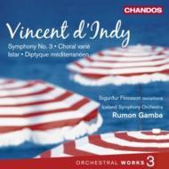 管弦楽曲集第3集(交響曲第3番、地中海二部作、他) ガンバ&アイスランド交響楽団