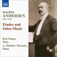フルートのための練習曲とサロン音楽集 ツァッポ、マッツォーニ