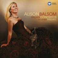イタリア・トランペット協奏曲集(ヴィヴァルディ、タルティーニ、アルビノーニ、他) バルサム(tp)、スコティッシュ・アンサンブル