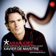 ロドリーゴ:アランフェス協奏曲(ハープ版)、ヒナステラ:ハープ協奏曲、他 メストレ、ド・ビリー&ウィーン放送響