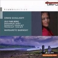 ピアノ作品集 バビンスキー、レットベリ、他(2CD)