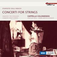 弦楽のための協奏曲集 カペラ・コロニエンシス