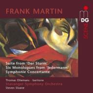 『嵐』組曲、『イェーダーマン』より6つのモノローグ、小協奏交響曲 スローン&スタヴァンゲル響、オリーマンス