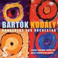 バルトーク:管弦楽のための協奏曲、コダーイ:管弦楽のための協奏曲 フリューベック・デ・ブルゴス&ロンドン交響楽団
