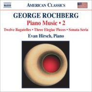 ピアノ作品集第2集(12のバガテル、ソナタ・セリア、3つの悲しい小品) ハーシュ