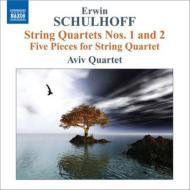 弦楽四重奏曲第1番、第2番、5つの小品 アヴィヴ四重奏団