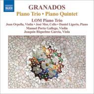 ピアノ三重奏曲、ピアノ五重奏曲 ロムピアノ三重奏団、ポルタ・ガリェゴ、リケルメ・ガルシア
