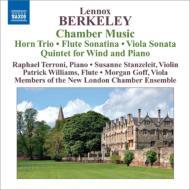 ピアノと管楽器ための五重奏曲、ホルン三重奏曲、他 テッローニ、ニュー・ロンドン・チェンバー・アンサンブル、スターリング、他