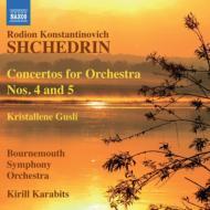 管弦楽のための協奏曲第4番、第5番、クリスタル・グスリ カラビツ&ボーンマス響