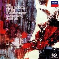 管弦楽のための協奏曲、舞踏組曲、『中国の不思議な役人』組曲 ショルティ&ロンドン響(シングルレイヤー)(限定盤)