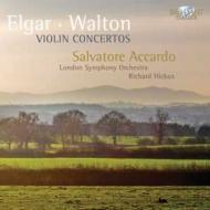 エルガー:ヴァイオリン協奏曲、ウォルトン:ヴァイオリン協奏曲 アッカルド、ヒコックス&ロンドン交響楽団