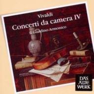 ヴィヴァルディ(1678-1741)/Concerti Da Camera Vol.4: Il Giardino Armonico