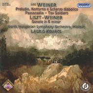 リスト:ピアノ・ソナタ(管弦楽版)、ヴェイネル:管弦楽曲集 コヴァーチ&ミシュコルツ北部ハンガリー交響楽団