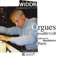 Organ Symphony, 7, 9, : Ledroit