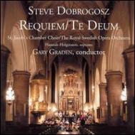 Requiem, Te Deum: G.graden / Stockholm Royal Opera O St.jacob's Chamber Cho