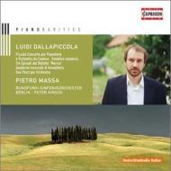 ミュリエル・クーヴルーのための小協奏曲、ピアノ作品集 マッサ、ヒルシュ&ベルリン放送交響楽団