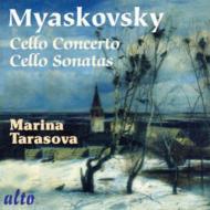 チェロ協奏曲、チェロ・ソナタ第1番、第2番 タラソワ、サモイロフ&モスクワ新オペラ管、ポレジャエフ