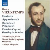 ヴァイオリンと管弦楽のための作品集 ケイリン、モグレリア&スロヴァキア放送響