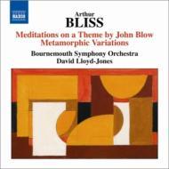 ジョン・ブロウの主題による瞑想曲、変容的変奏曲 ロイド=ジョーンズ&ボーンマス響