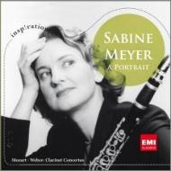 Mozart Clarinet Concerto, Weber Clarinet Concertos Nos, 1, 2, : S.Meyer, Vonk / Blomstedt / Staatskapelle Dresden