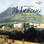 12のリコーダー・ソナタ集 カヴァサンティ、アンサンブル・トリプラ・コンコルディア(2CD)
