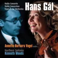 ヴァイオリン協奏曲、コンチェルティーノ、トリプティク アネッテ=バルバラ・フォーゲル、ウッズ&ノーザン・シンフォニア