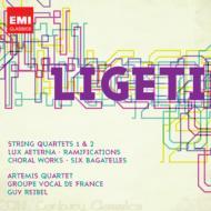 弦楽四重奏曲第1番、第2番、永遠の光、他 アルテミス四重奏団、グループ・ヴォカール・ド・フランス、他(2CD)