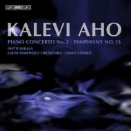 交響曲第13番、ピアノ協奏曲第2番 ヴァンスカ&ラハティ響、シーララ