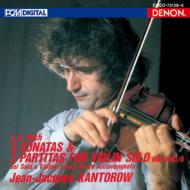 Sonatas & Partitas For Solo Violin: Kantorow(Vn)