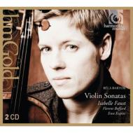 無伴奏ヴァイオリン・ソナタ、ヴァイオリン・ソナタ第1番、第2番、ルーマニア民族舞曲、他 イザベル・ファウスト(2CD)