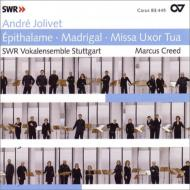 祝婚歌、マドリガル、ミサ曲『汝の妻』 クリード&SWRヴォーカル・アンサンブル