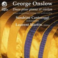Works For Violin & Piano: Cantoreggi(Vn)L.martin(P)