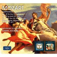 モーツァルト(1756-1791)/Sym 39 40 41 : Jochum / Bamberg So +masonic Funeral Music