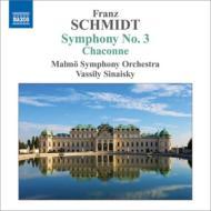 交響曲第3番、『シャコンヌ』 シナイスキー&マルメ交響楽団