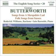歌曲集〜『シュロップシャーの若者』からの6つの歌、他 R.ウィリアムズ、バーンサイド