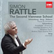 新ウィーン楽派の音楽 ラトル(5CD)