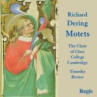 デリング、リチャード(1580-1630)/18 Latin Motets: T.clare College Chapel Cho