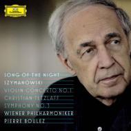 Sym, 3, Violin Concerto, 1, : Boulez / Vpo Davislim(T)Tetzlaff(Vn)