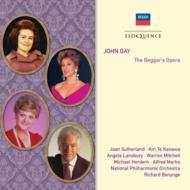 『乞食オペラ』全曲 ボニング&ナショナル・フィル、サザーランド、テ・カナワ、他(1981 ステレオ)(2CD)