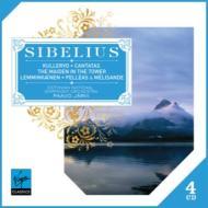 クレルヴォ交響曲、レンミンカイネン組曲、カンタータ集、フィンランディア、他 P.ヤルヴィ&ストックホルム・フィル、エストニア国立響(4CD限定盤)