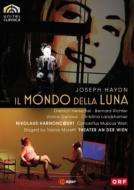 ハイドン(1732-1809)/Il Mondo Della Luna: Moretti Harnoncourt / Cmw D.henschel B.richter Genaux