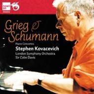 シューマン:ピアノ協奏曲、グリーグ:ピアノ協奏曲 コヴァセヴィチ、C.デイヴィス&BBC響