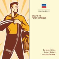 『サリュート・トゥ・パーシー・グレインジャー』 ピアーズ、シャーリー=カーク、ブリテン指揮、ガーディナー&フィルハーモニア管、他(2CD)