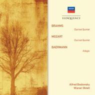 モーツァルト:クラリネット五重奏曲、ブラームス:クラリネット五重奏曲 A.ボスコフスキー、ウィーン八重奏団(1953−54)
