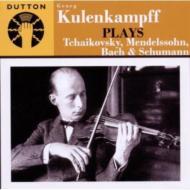 Violin Concerto: Kulenkampff(Vn)Rother / Schmidt-isserstedt / +j.s.bach, Schumann