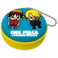 Zipper Can ONE PIECE x PANSON WORKS Luffy & Sanji (Blue)