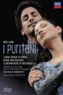 『清教徒』全曲 ピエラッリ演出、マリオッティ&ボローニャ歌劇場、フローレス、マチャイゼ、他(2009 ステレオ)(2DVD)