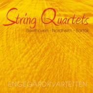 ベートーヴェン:弦楽四重奏曲第10番『ハープ』、バルトーク:弦楽四重奏曲第3番、ヌールハイム:弦楽四重奏曲 エンゲゴール四重奏団
