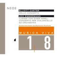 Cello Concerto: J.vogler(Vc)K.jarvi / Bavarian Rso +u.zimmermann (Musica Viva Munchen Vol.18)