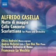 5月の夜、チェロ協奏曲、スカルラッティアーナ ラ・ヴェッキア&ローマ交響楽団、ユ・ソンヒ、他